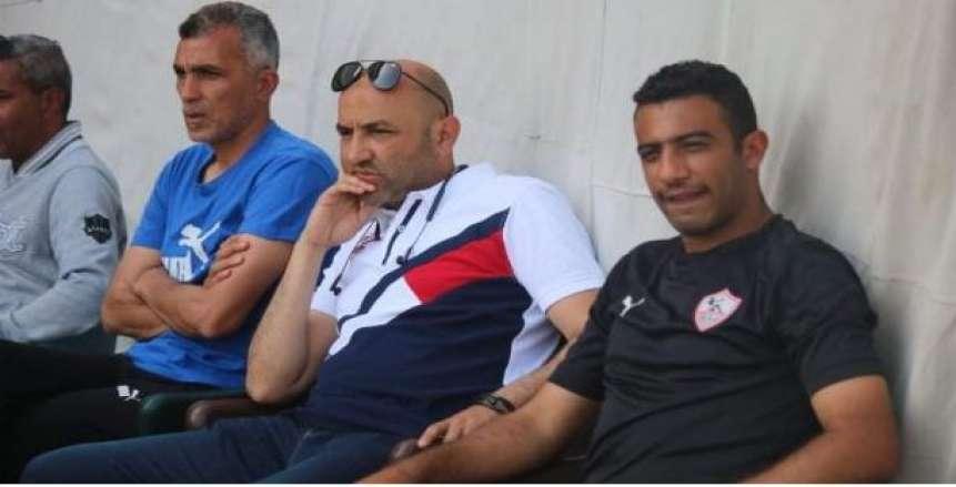 إيهاب جلال في نادي الزمالك لمتابعة ناشئي الإسماعيلي