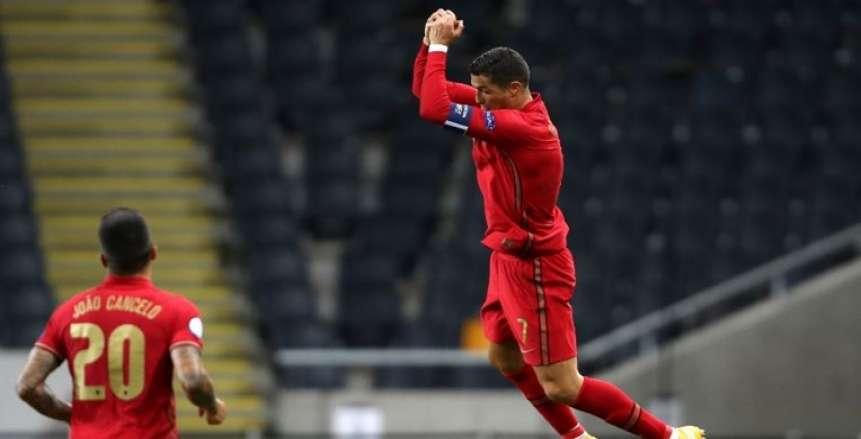 رونالدو يحسم نتيجة مباراة البرتغال وأيرلندا في تصفيات كأس العالم 2022
