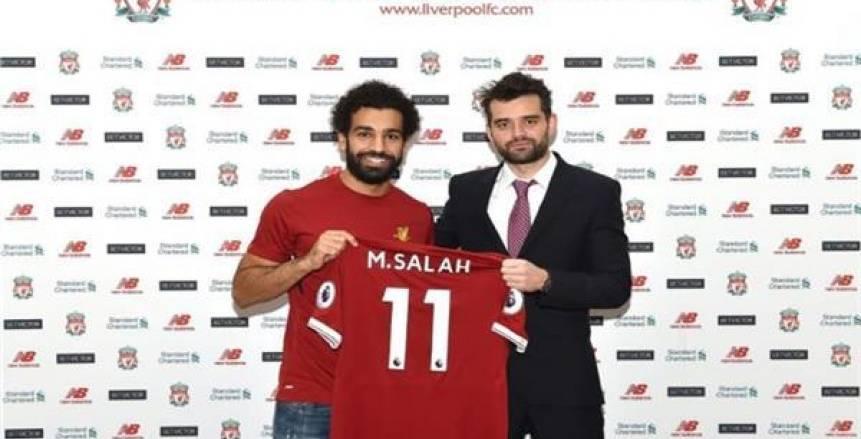 وكيل محمد صلاح يرد على أنباء رحيله عن ليفربول