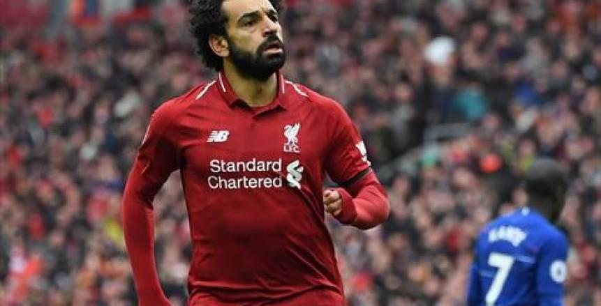 رقم خاص ينتظر محمد صلاح في مباراة ليفربول وهدرسفيلد