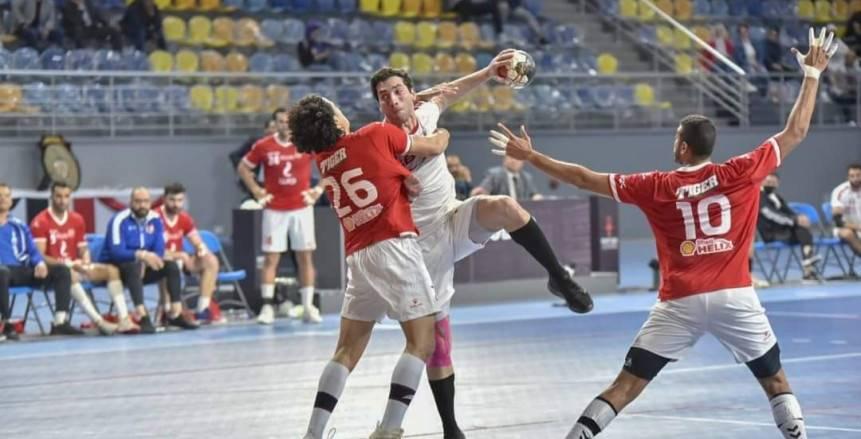 مدرب يد الأهلي: اللعب السلبي وراء إلغاء هدف الزمالك وليس بسبب لمس الخط