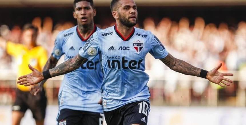 بالفيديو| ألفيس يحرز أولى أهدافه مع ساو باولو في الدوري البرازيلي