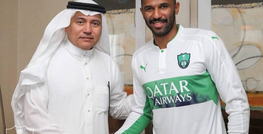 بالصور| الأهلي السعودي يضم العويس حتى 2022