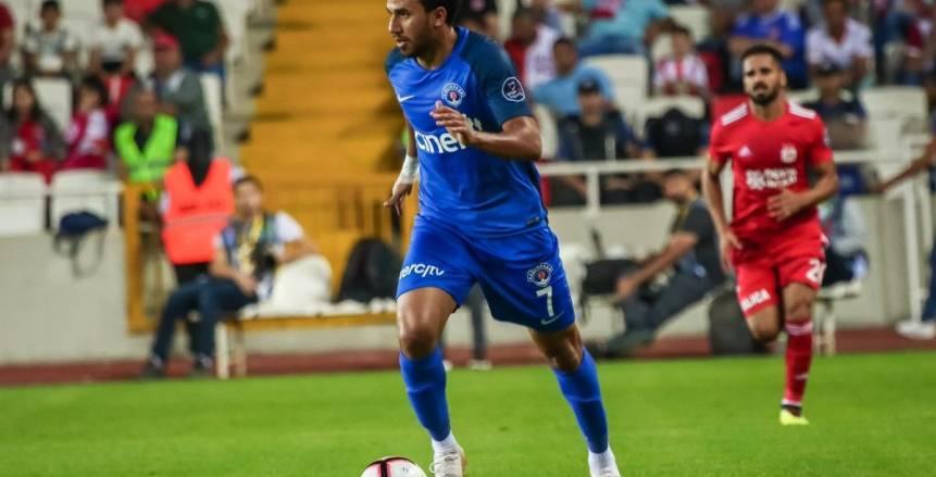تريزيجيه يسجل الهدف الأول لقاسم باشا أمام بورصا سبور في الدوري التركي