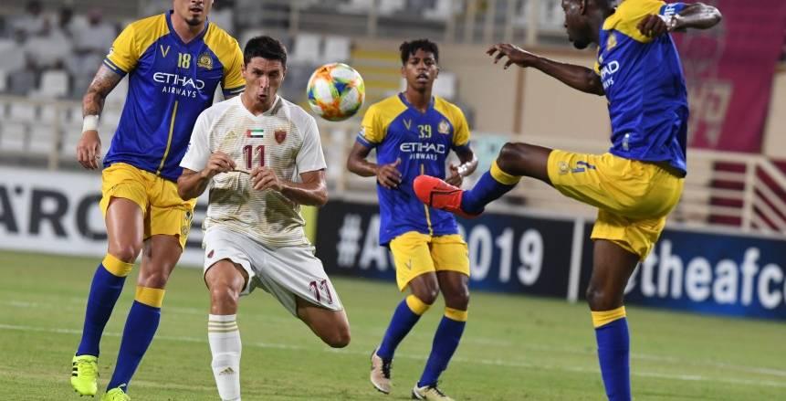 في مباراة مُمتعة.. النصر يفوز على الوحدة بثلاثية ويتأهل لربع نهائي دوري أبطال آسيا