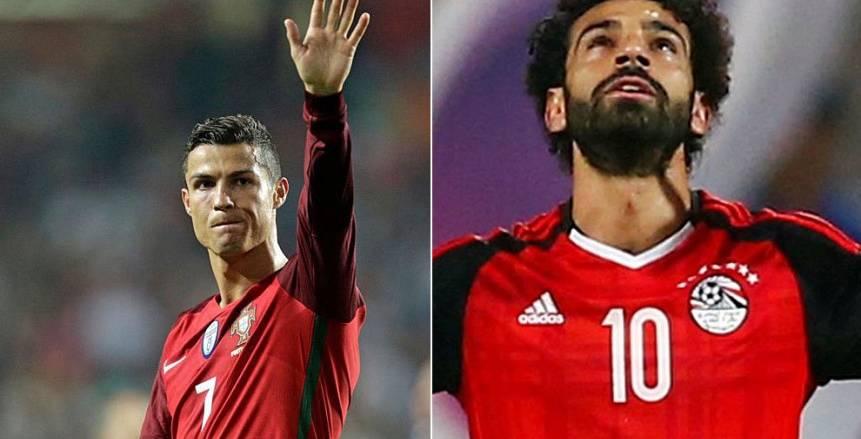 التعادل السلبي يحسم الشوط الأول بين مصر والبرتغال