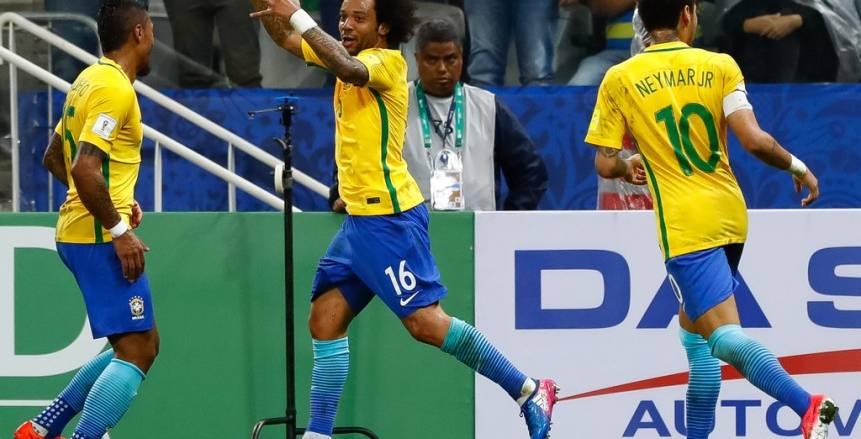 إستبعاد نيمار ومارسيللو وألفيس من قائمة البرازيل لمواجهة الأرجنتين