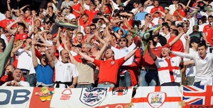 10 آلاف مشجع إنجليزي في روسيا لدعم المنتخب في كأس العالم