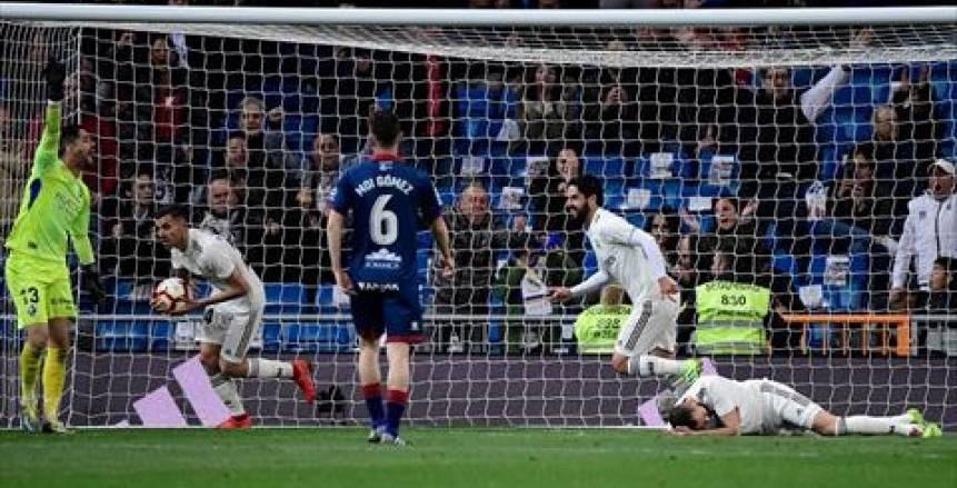 ريال مدريد يسقط هويسكا