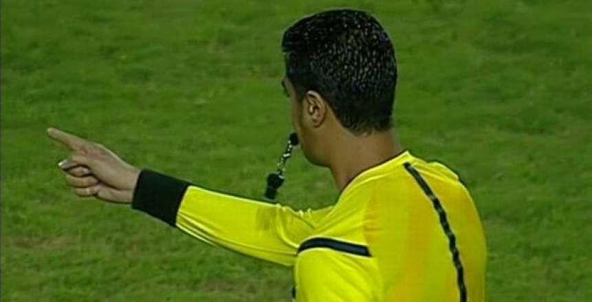 أمين عمر يدير مباراة الأهلي والداخلية