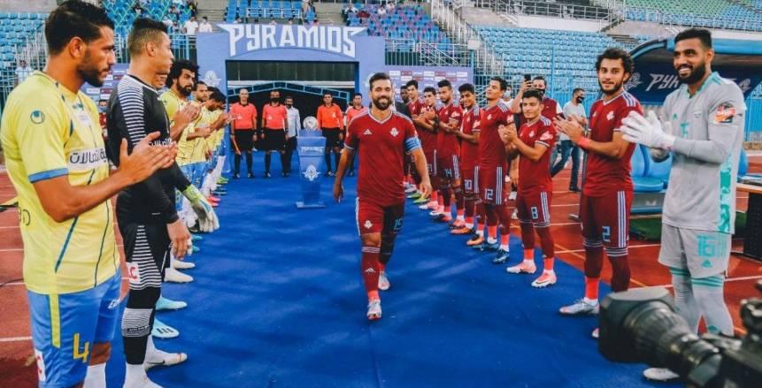 مواجهة الأهلي وبيراميدز: فرصة السعيد لمعادلة أهداف الخطيب في الدوري