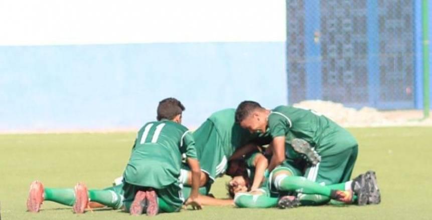 المصري تحت 16عامًا يفوز على المريخ بهدفين بدوري منطقة بورسعيد