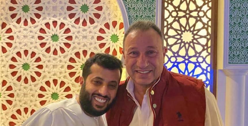 تركي آل الشيخ: الخطيب تواصل معي للاطمئنان على صحتي