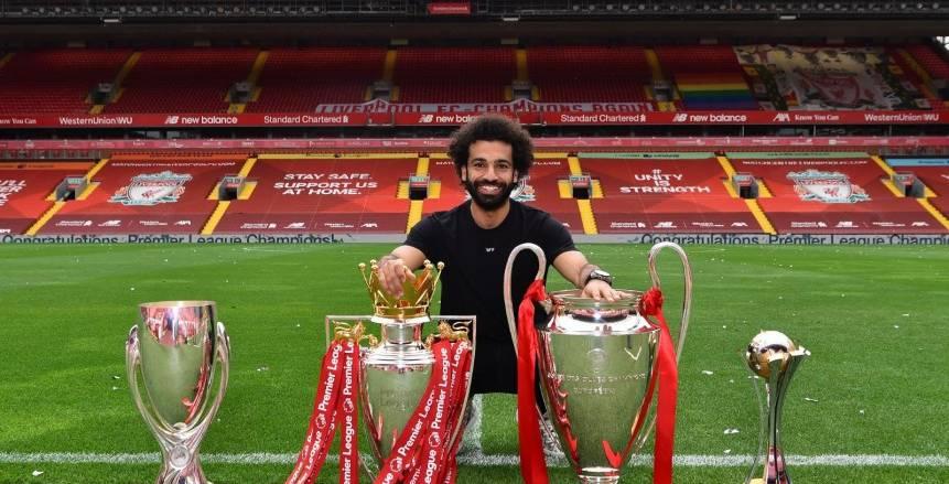 جيرارد: صلاح أفضل لاعب إفريقي في تاريخ الدوري الإنجليزي