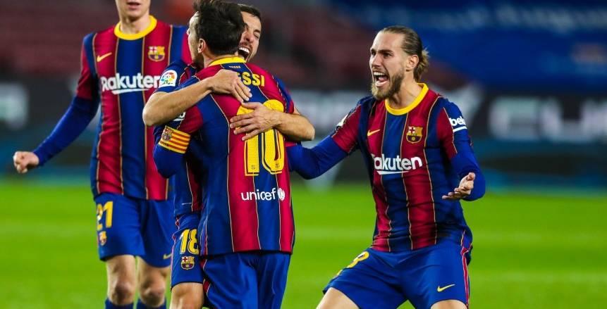 جريزمان يقود هجوم برشلونة ضد إيبار في غياب ميسي