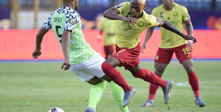 دور ال16.. مباراة نيجريا والكاميرون