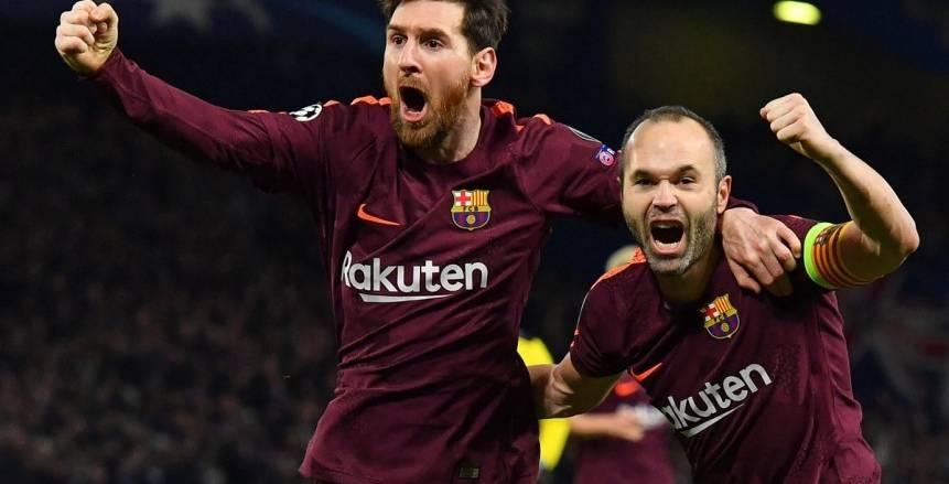 إنييستا: كان يجب فوز برشلونة بدوري أبطال أوروبا بشكل أكبر في وجود ميسي