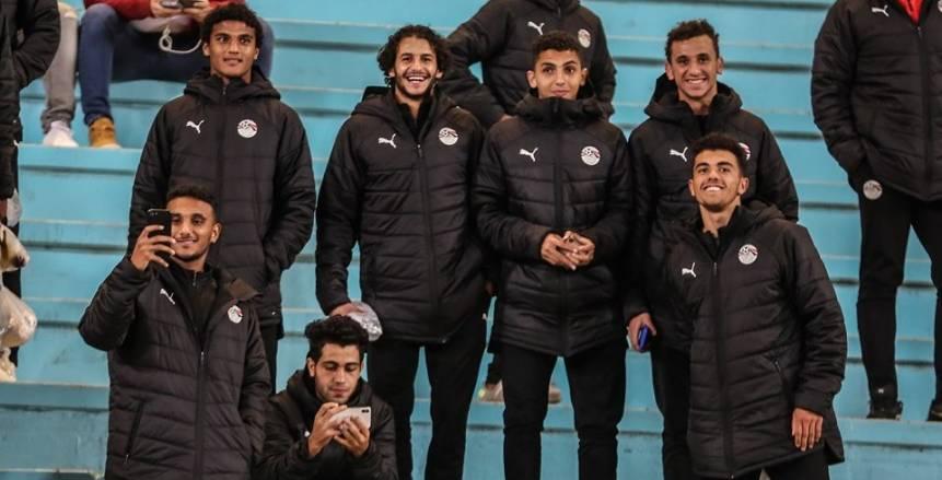 منتخب الشباب يؤازر الأهلي أمام النجم الساحلي في استاد رادس (صور)