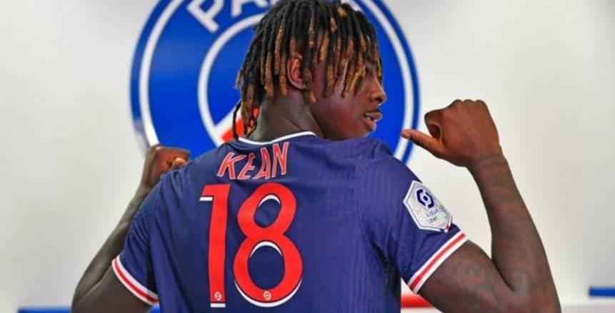 باريس سان جيرمان يعلن إصابة مهاجمه مويس كين بكورونا