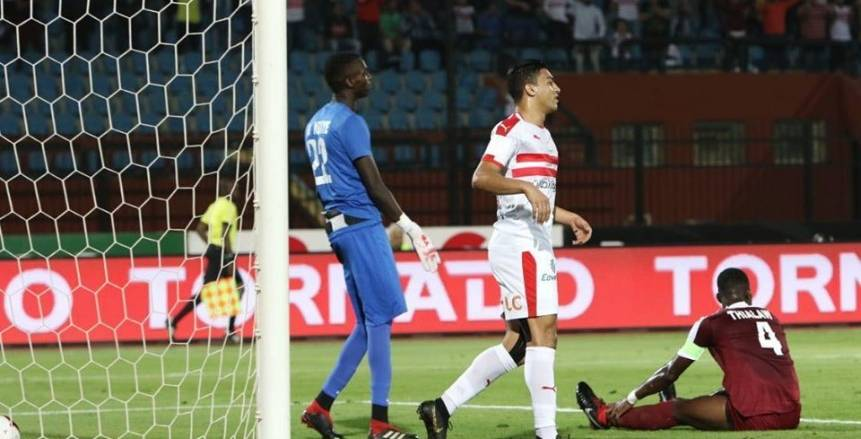 مباراة الزمالك وجينيراسيون في دور الـ32 من دوري أبطال أفريقيا