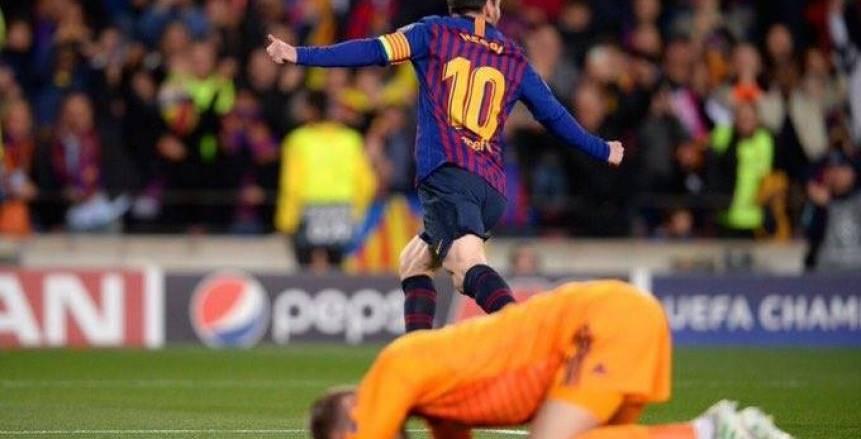 برشلونة يسحق مانشستر يونايتد بثلاثية..