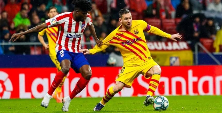 ميسي يخطف انتصارا قاتلا لبرشلونة من أنياب أتلتيكو مدريد (فيديو)