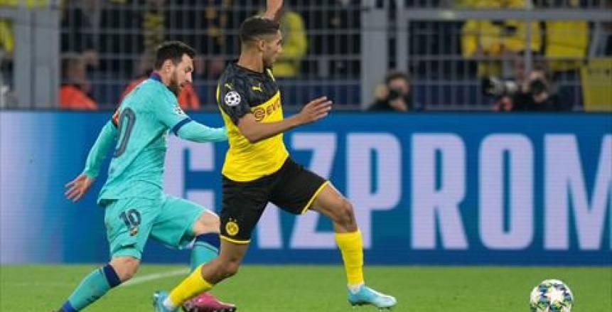 شتيجن يُنقذ برشلونة من الهزيمة أمام دورتموند في ليلة عودة ميسي