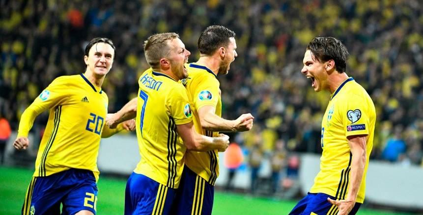 أهداف مباراة السويد وبولندا في يورو 2020