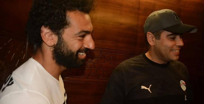 بالصور| الظهور الأول لمحمد صلاح في مران المنتخب استعدادا لأمم أفريقيا