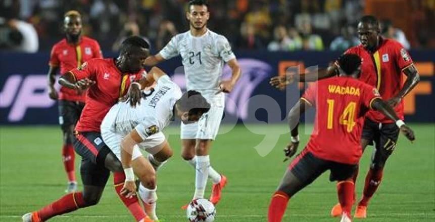 75 دقيقة| أمم أفريقيا: أوكوي يهدر هدفا محققا لأوغندا.. واستمرار تراجع أداء مصر