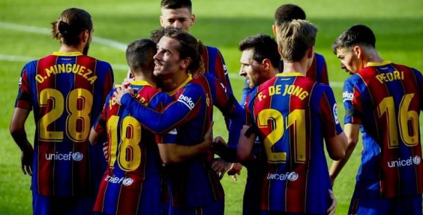 برشلونة يمطر شباك خيتافي بخماسية في الدوري الإسباني