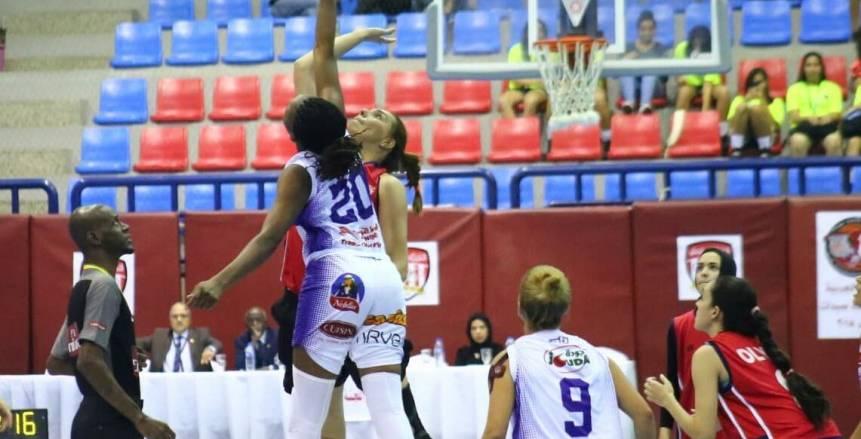 الأمل التونسي يفوز على الأوليمبي بافتتاح البطولة العربية للأندية لكرة السلة