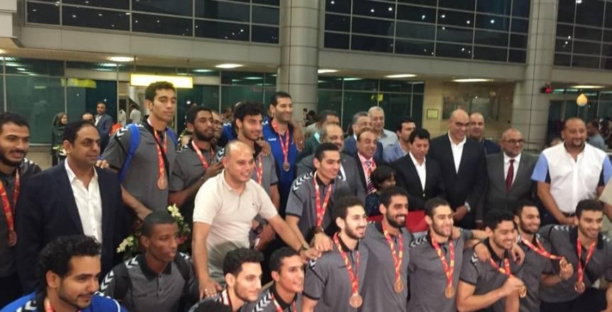 احتفالية كبرى لتكريم منتخب مصر لشباب اليد بعد برونزية بطولة العالم