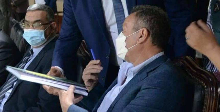 رسالة بخط يد الخطيب لإدارة استاد الإسكندرية بعد فوز الأهلي على المصري