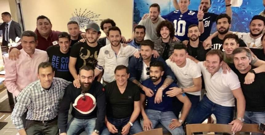 بالصور.. وجبة غداء لرامون دياز ولاعبي بيراميدز بعد الفوز على الأهلي