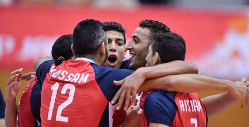 منتخب الطائرة يواجه إيران بمعنويات مرتفعة بعد الفوز على أستراليا ببطولة العالم