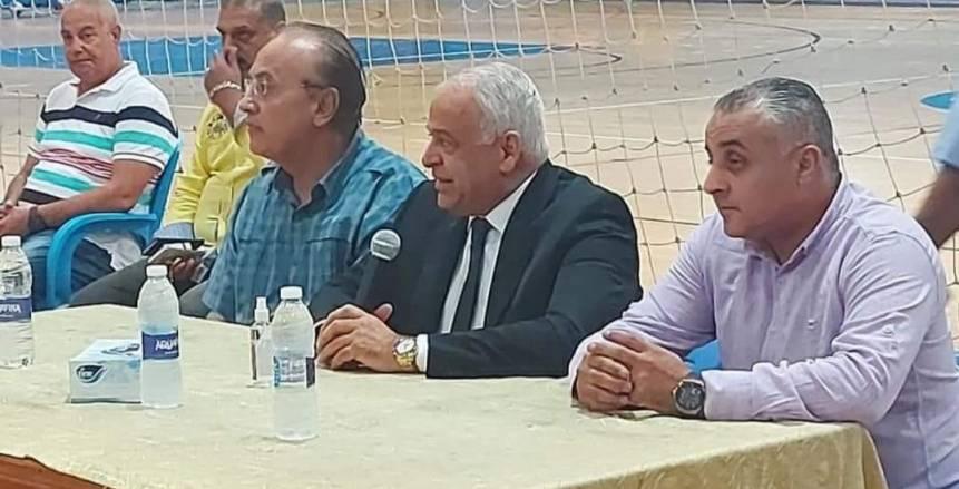 فرج عامر لأنصاره: عدت لانتخابات سموحة وسأدافع عن حقوقه