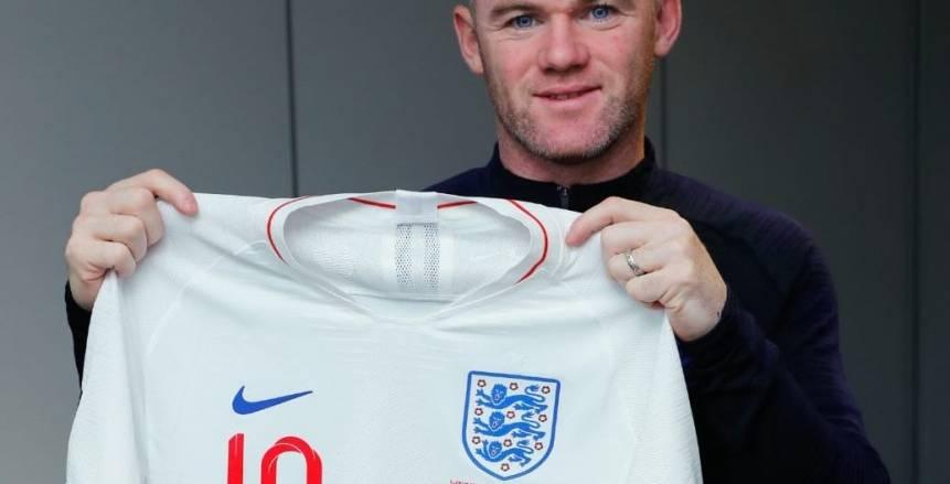 بسبب «روني».. قميص خاص للمنتخب الإنجليزي أمام أمريكا