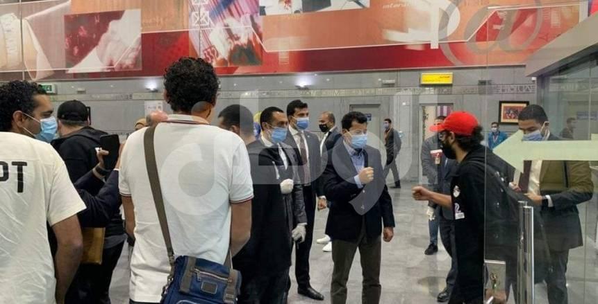 عزل لاعبي منتخب مصر بعد العودة من توجو