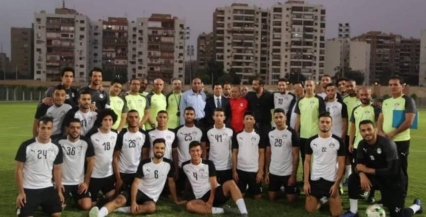 """""""صلاح وريان"""" ورمضان صبحي يقودون المنتخب الأوليمبي أمام السعودية"""