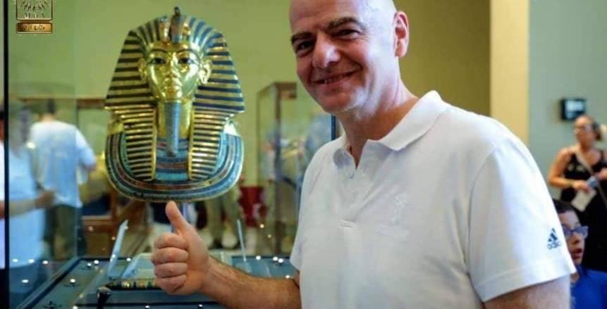 """أفريقيا لمصر: شكراً أبهرتمونا.. ورئيس """"فيفا"""": مبروك نجاح التنظيم"""