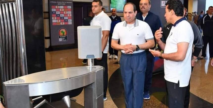 أبو ريدة: دعم الرئيس وراء التنظيم الرائع.. ومصر ستكون جاهزة لاستضافة مونديال 2030