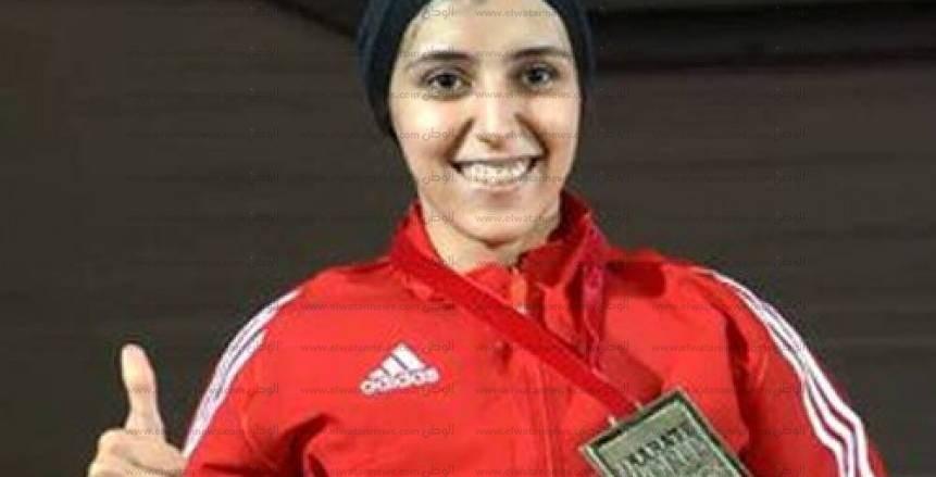 جيانا فاروق تحصد برونزية بطولة العالم للكاراتيه