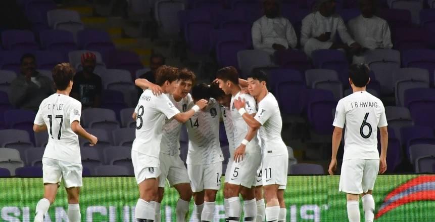كوريا الجنوبية تلحق بالصين إلى دور ربع النهائي في أمم أسيا بالفوز قيرجيزستان