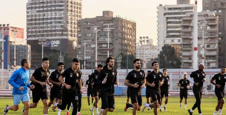 استعدادات الزمالك الأخيرة لمواجهة المقاولون العرب في الدوري