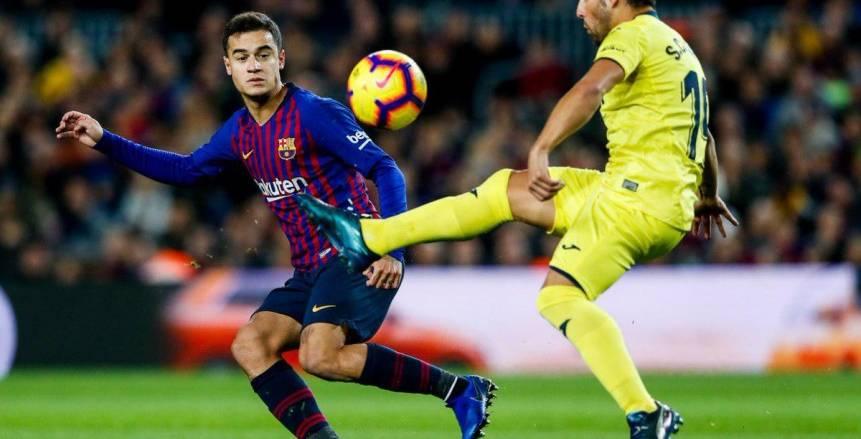 الدوري الإسباني| بالفيديو.. برشلونة يهزم فياريال بـ «ثنائية».. ويتصدر «الليجا»