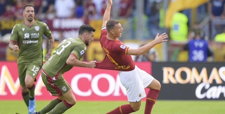 بالفيديو.. تعادل مخيب لروما أمام كالياري بالدوري الإيطالي