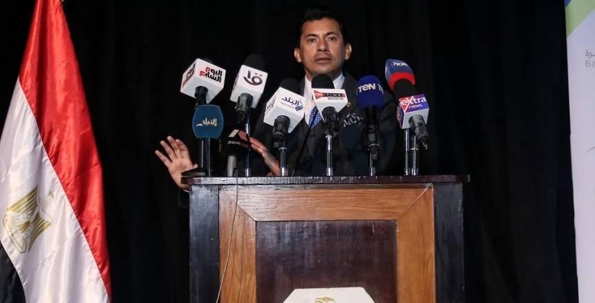 وزير الشباب: خفضنا نسبة الجماهير في كأس العالم لليد 3 مرات