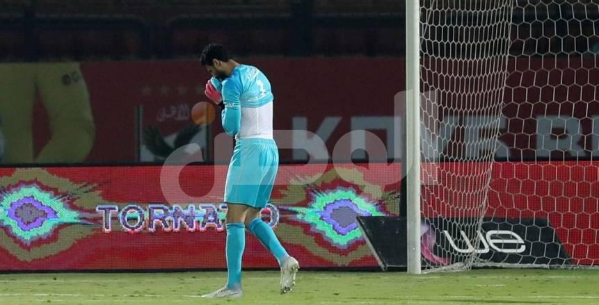 ذعر في الأهلي بسبب إصابة محمد الشناوي أمام البرازيل