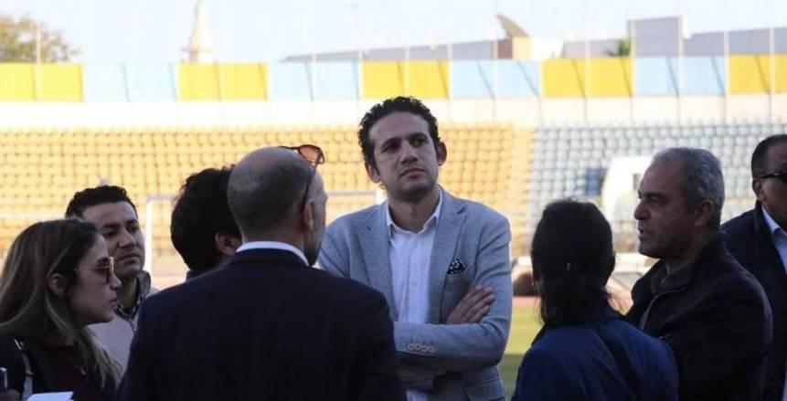 فضل: مصر جاهزة لاستضافة نهائي دوري الأبطال وأمم أفريقيا